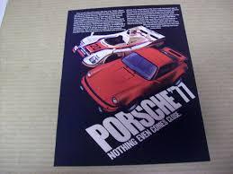 porsche ads porsche u002777 nothing even comes close print ads hobbydb