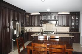 gel stain on kitchen cabinets java kitchen oak cabinet normabudden com