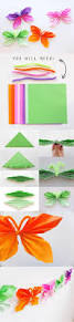 How To Make Floral Arrangements Step By Step Diy Folded Paper Butterfly Floral Arrangement Terraria And