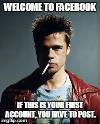Fight Club Memes - tyler durden fight club meme imgflip