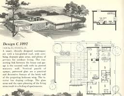 floor plan with roof plan mid century modern ranch house plans single story flat roof with