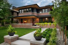 frank lloyd wright inspired home with lush landscaping frank lloyd wright inspired home with lush landscaping 2015 fresh