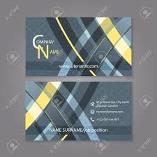 professional business card template design editable vector