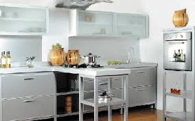 kitchens shelves decorating with food eco style storage ideas