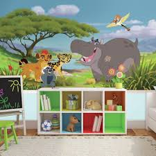 roommates 72 in x 126 in paw patrol xl chair rail prepasted wall 72 in w x 126 in h lion guard xl chair