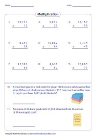 multiplication 3 digit multiplication worksheets grade 3 free