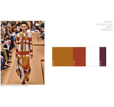 2017 color trends fashion eclectic trends 5 fashion color trends aw 2017 18 translated into