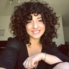 shoulder length layered natural curly haircuts with front and back pictures best 25 medium curly bob ideas on pinterest medium curly