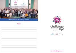Challenge Up Challenge Up Londyn Broszura A5 Small