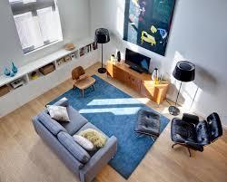 Small Loft Ideas Interior Decoration Modern Minimalist Cozy Living Room In Small