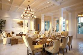 Brass Accents Dining Room Tropical With Wooden Table Arms Leg - Tropical dining room sets counter height
