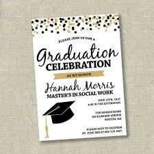 graduation invite graduation invitation college graduation invitation high