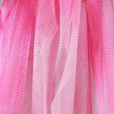 cheap tulle fabric printed netting mesh ombre two toned pink tulle fabric costume