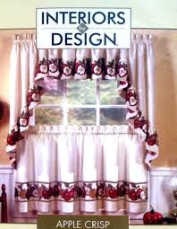 Apple Curtains For Kitchen by Best 25 Green Kitchen Curtains Ideas On Pinterest Teal Kitchen
