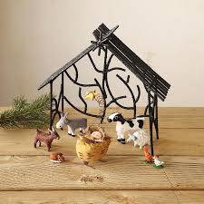 creatures great u0026 small creche decor home furnishings robert