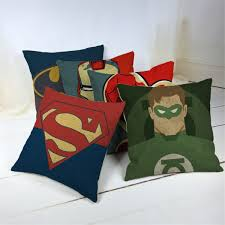 cartoon style fashion decorative cushions marvel heroes printed