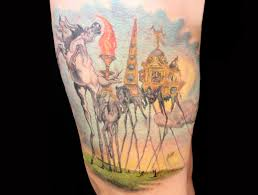 tattoo re creations of famous works of art scene360