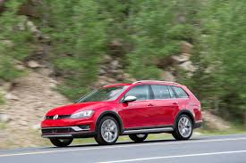 dark green volkswagen 2017 volkswagen golf alltrack review surprisingly capable subaru