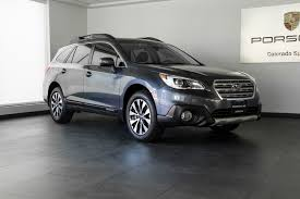 subaru outback carbide gray 2016 subaru outback 2 5i limited for sale in colorado springs co
