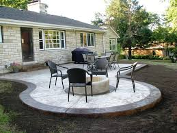 triyae com u003d concrete patio ideas small backyards various design