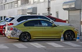 Bmw M3 Yellow 2016 - 2016 bmw m3 facelift spied wearing camo autoevolution