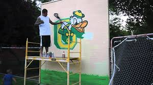 lacrosse wall mural time lapse spray painting lacrosse wall part 1 wall murals skull