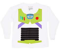 kids white disney pixar toy story buzz lightyear long sleeved