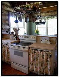 Curtains For Cupboard Doors Replace Kitchen Cabinet Doors With Curtains Home Design Ideas