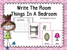 Things In A Bedroom Kindergarten Couture Teaching Resources Tes