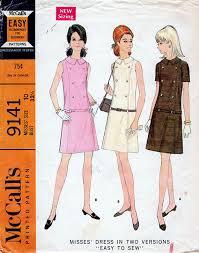 pattern a line shift dress 1960s a line shift dress pattern mccall s 9141 by bessieandmaive