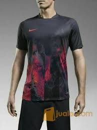 Baju Nike jersey baju kaos bola setelan stelan futsal nike volcano grade ori