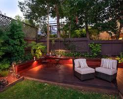 design gartenh user terrassen ideen garten sichtschutz sessel essecke leuchten zaun