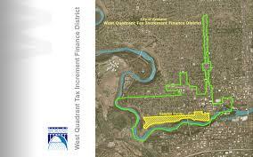 Spokane Wa Map West Quadarent Tax Increment Finance District City Of Spokane