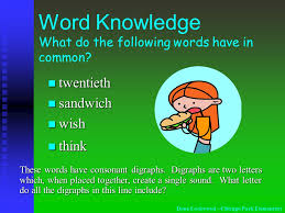 word knowledge these words are synonyms synonyms are words that