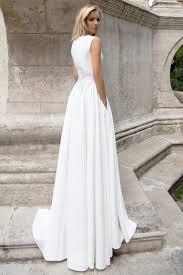 robe mariã e fluide robe de mariée élégante création may dos collection 2017