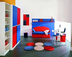 red and blue bedroom blue and red kids room kids bedroom interior design for small