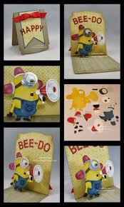 creations by patti thanks a minion card minions pinterest