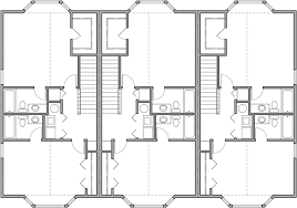 Retail Floor Plans by Triplex House Plans D 468 Mixed Use House Plan Condo Plans