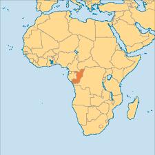 Republic Of Congo Map Congo Operation World