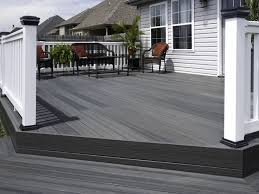 decks veranda composite decking for elegant outdoor home design