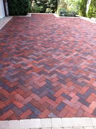 simple brick patterns patio for home decor ideas with brick