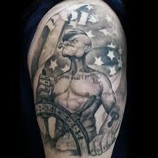 3d popeye tattoos 65 best popeye images on pinterest bangor