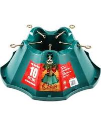 deal on post 522 st tree stand green plastic