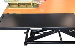 elevator 1100s snowmobile and snowblower lift table includes side
