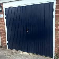 Elite Garage Door by Cardale Midnight Blue Side Hinged Garage Door Elite Gd