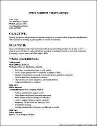 clerical resume templates resume exles for clerical exles of resumes