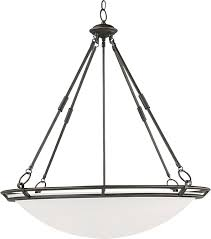 Inverted Pendant Lights by Stratus 6 Light Pendant Invert Bowl Pendant Maxim Lighting
