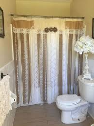 impressive country chic shower curtains designs with chic shower
