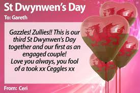 our s day together st dwynwen s day your loving messages on the most day in