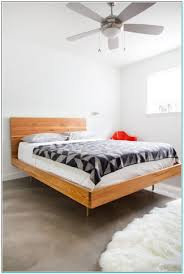 minimal bed frame rustic wood minimalist bed frame twin full queen